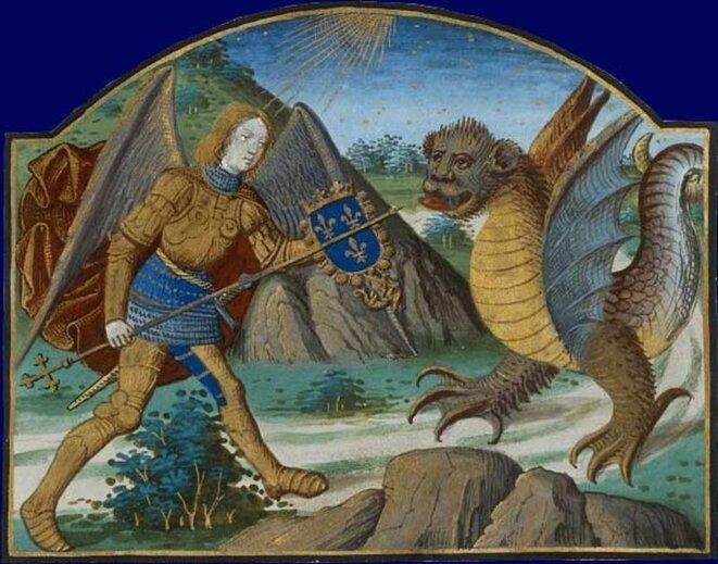 saint-michel-et-le-dragon