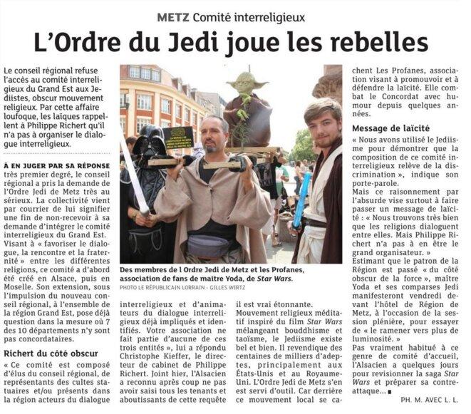 Ordre Jedi de Metz