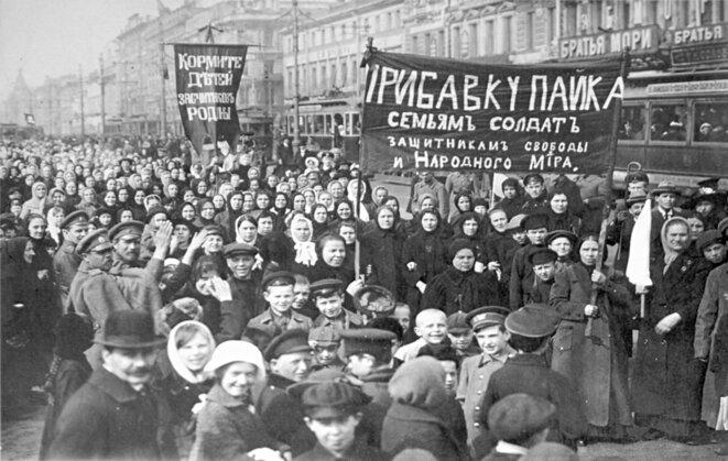 Petrograd, 3 mars 1917