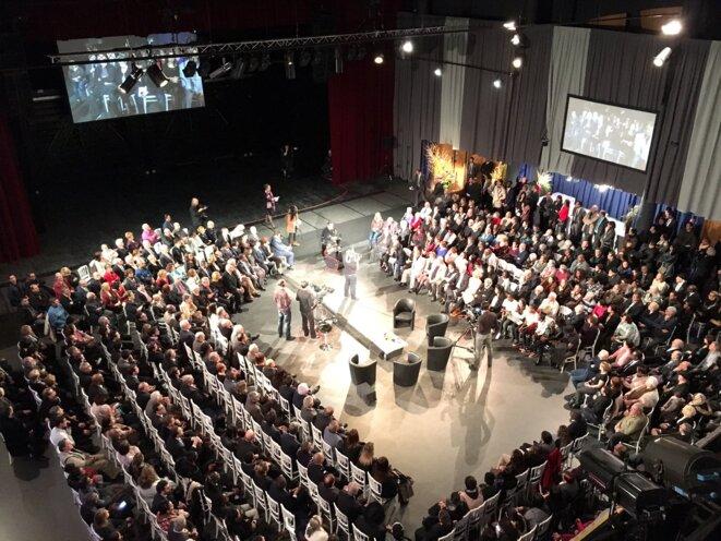 Chaque année, la fastueuse cérémonie assurée par CPP met en scène le maire Maurice Lefèvre © Ville de Garges