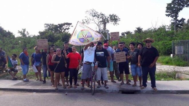 La nation Kalina (à Awala - Yalimapo) rejoint le Mouvement.