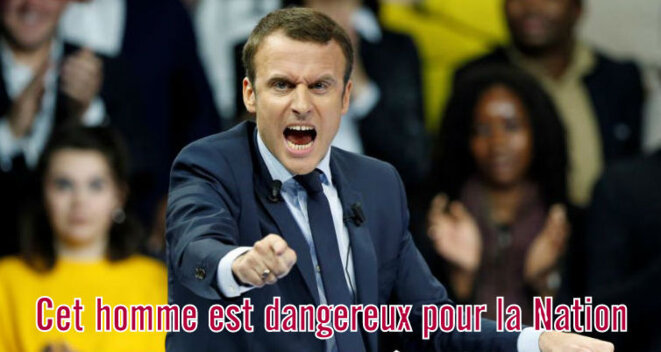 Macron, un candidat dangereux ? © Pierre Reynaud