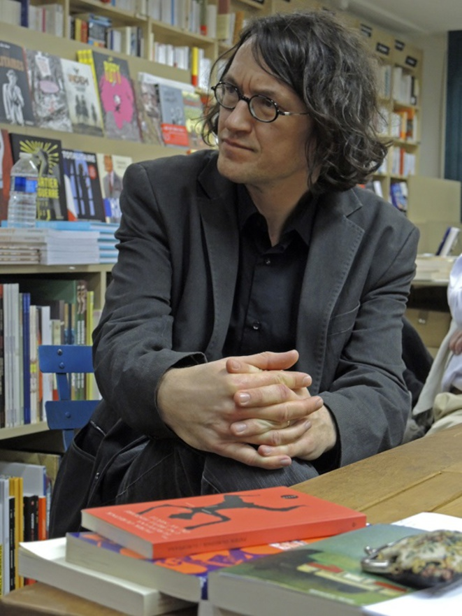Nicolas Cavaillès, 24 mars 2017 © Gilles Walusinski