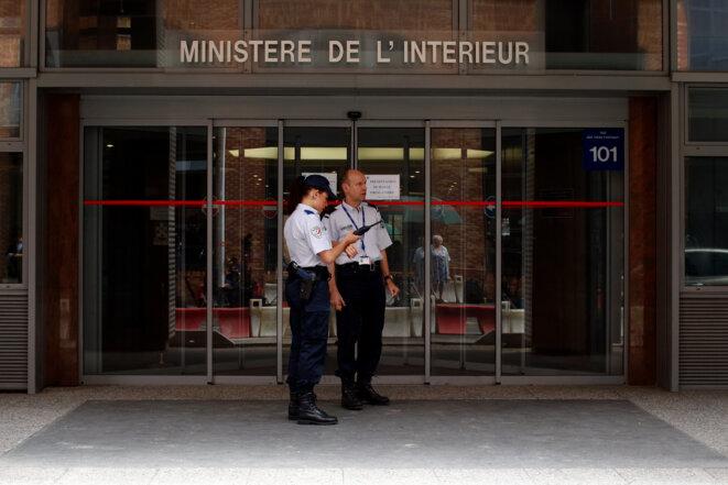 À Nanterre, le siège de l'Office central anticorruption. © Reuters