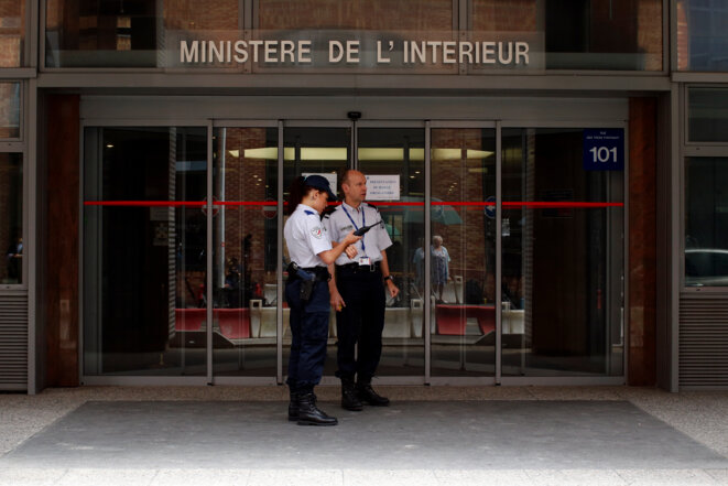 À Nanterre, le siège de l'Office central anticorruption. © Reuters