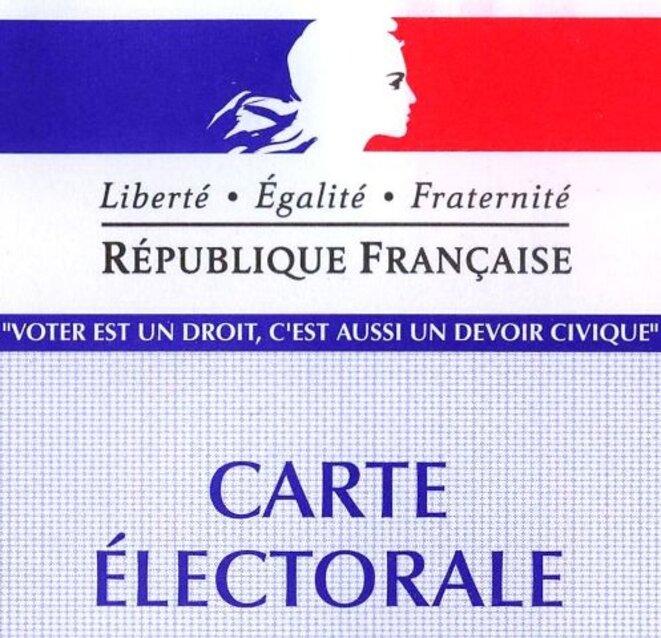 Carte électorale française