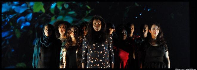 avec F(l)ammes, Ahmed Madani donne la voix aux femmes © François Louis Athénas