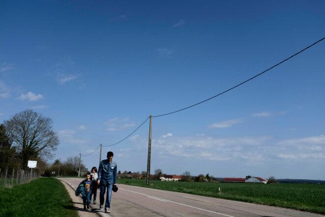 Nitry, Bourgogne, le 29 mars 2017 © Meyer / Tendance Floue