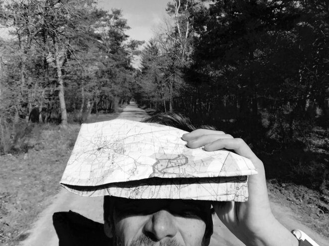 Autoportrait. Fontainebleau, Ile-de-France, le 13 mars 2017 © Grégoire Eloy / Tendance Floue