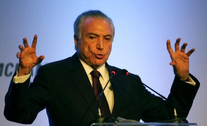 El sucesor de Dilma Rousseff, Michel Temer. © Reuters