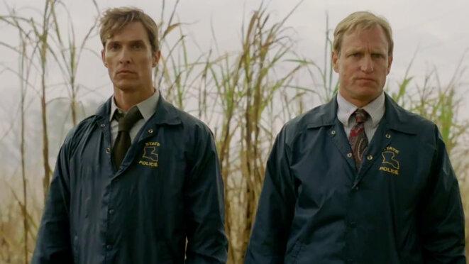 Matthew McConaughey et Woody Harrelson - True Detective Saison 1
