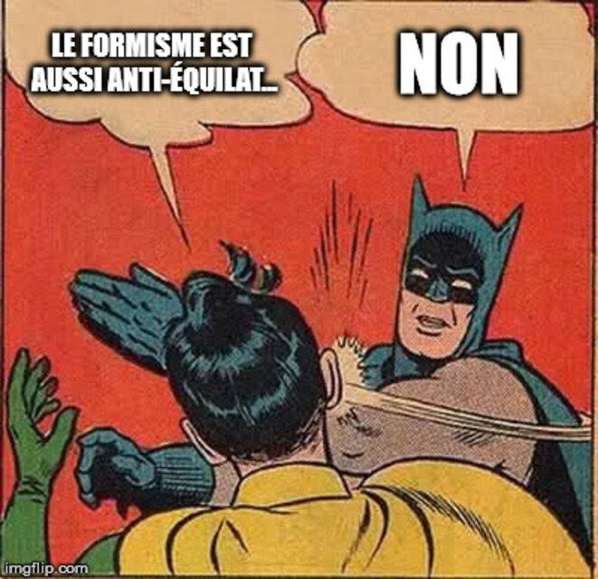 C'est compliqué d'avoir un débat calme et rationnel avec Batman aussi, pourtant tout le monde le trouve cool.