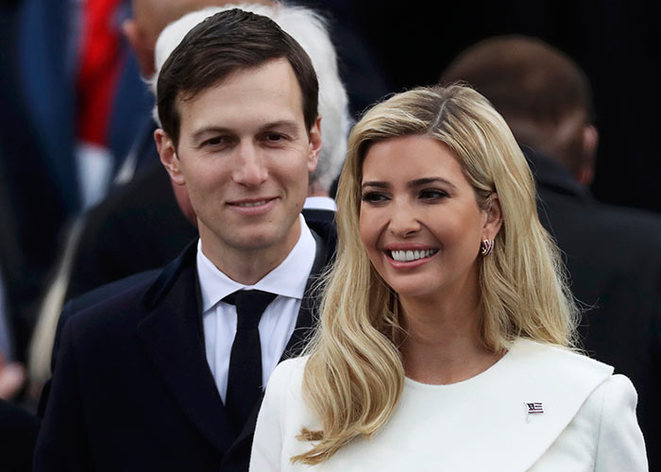 Jared Kushner et Ivanka Trump. © Reuters