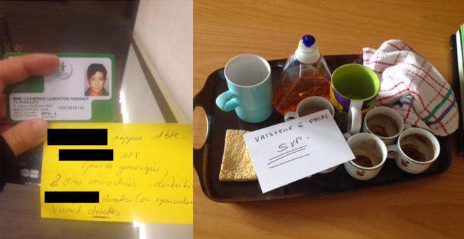 Quelques exemples des tâches quotidiennes assignées à Julien. © DR