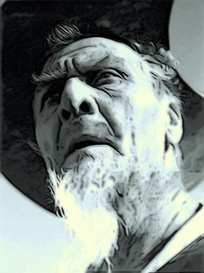 Chaliapine en Don Quichotte pour le film de Pabst