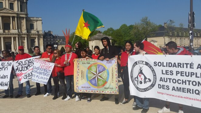 Paris. Guyane VS École de Guerre.