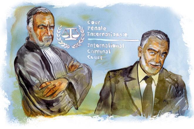 Luis Moreno-Ocampo, premier procureur en 2003 de la CPI © Damien Roudeau
