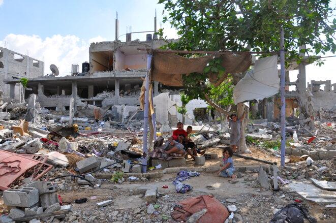 Beit Hanoun, Gaza, septembre 2014. © Pierre Puchot/Mediapart.