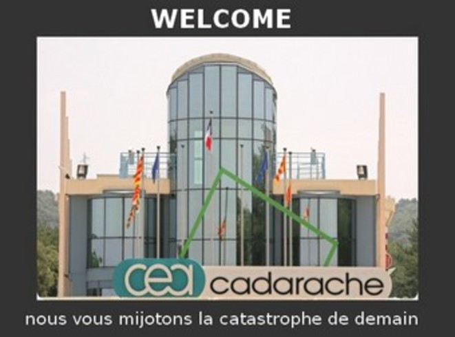 cadarache-welcome