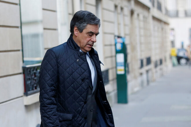 François Fillon, le 28 mars 2017. © Reuters