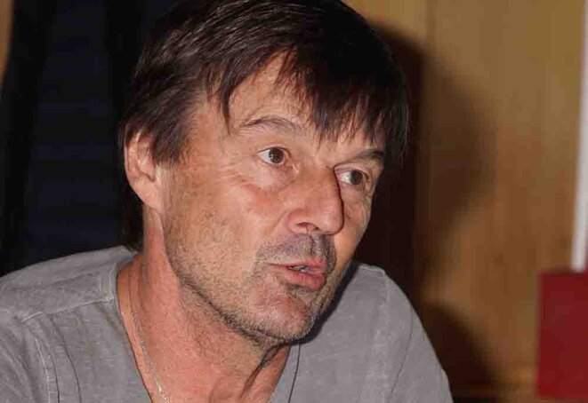 Nicolas Hulot © Photo JRS