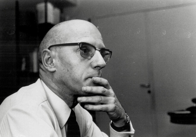 Michel Foucault, described by the CIA as 'France's most profound thinker'.