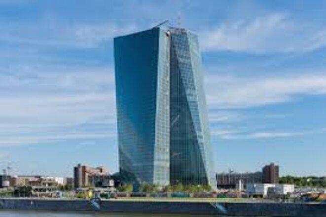Banque Centrale Européenne à  Francfort