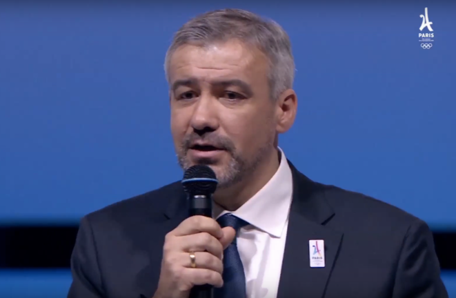 Cofondateur de Keneo, Étienne Thobois est aujourd'hui directeur général de la candidature Paris 2024. © Capture d'écran