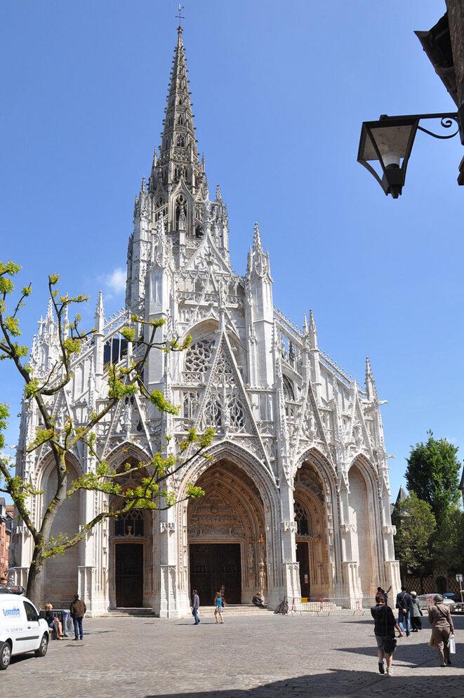 Rouen, place Barthélémy, église Saint-Maclou