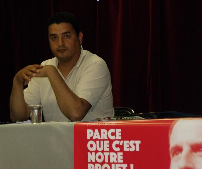 Hassène, responsable du mouvement En Marche ! dans les Bouches-du-Rhône © Philippe Léger