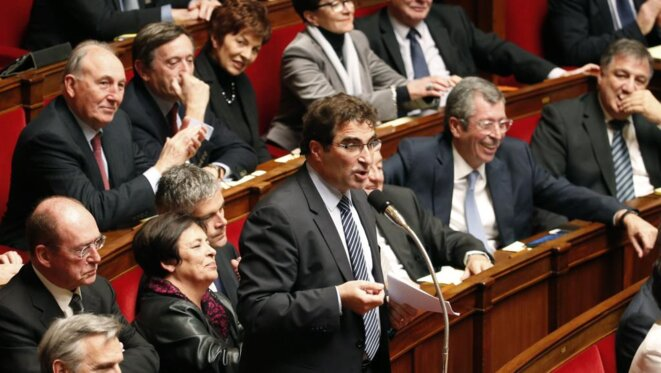 Christian Jacob actuel Président du Groupe Les Républicains à l'Assemblée Nationale © © RFI