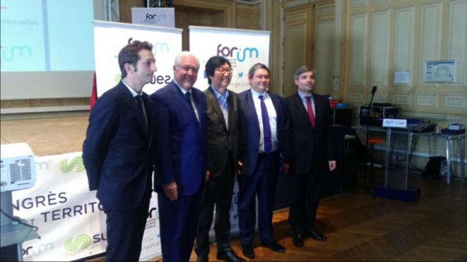 Le secrétaire d'Etat Jean-Vincent Placé au congrès 2016 du Forum. © DR