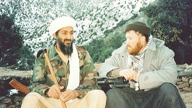 Ben Laden et al-Souri : ce dernier va rompre avec le chef d'Al-Qaïda.