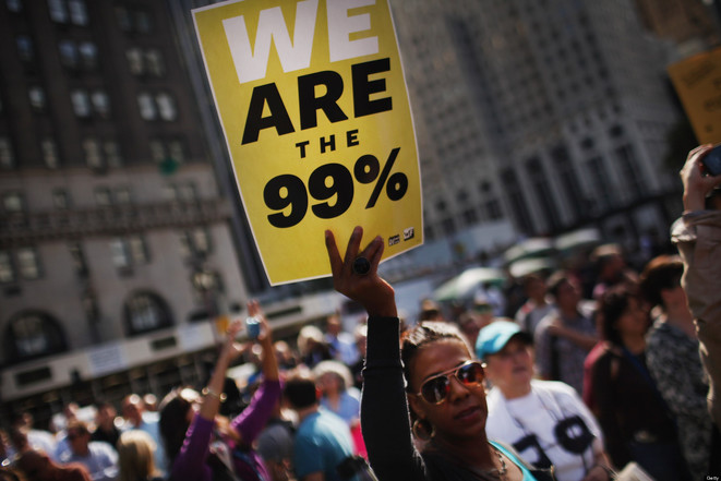 Le mouvement occupy wall street © The Huffington Post