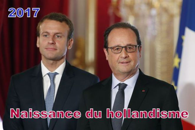 Macron - Hollande : l'entente cordiale © Pierre Reynaud