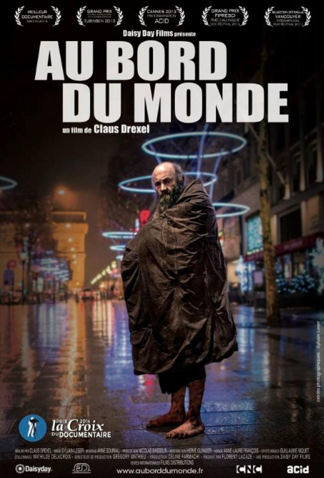 © Sylvain Leser  (Henry en affiche du film: Au bord du monde de Claus Drexel)