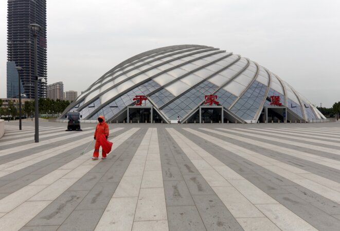 Gare deTianjin Binhai, photo George Dupin