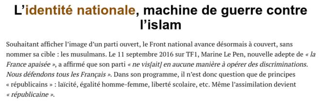 FN Islam