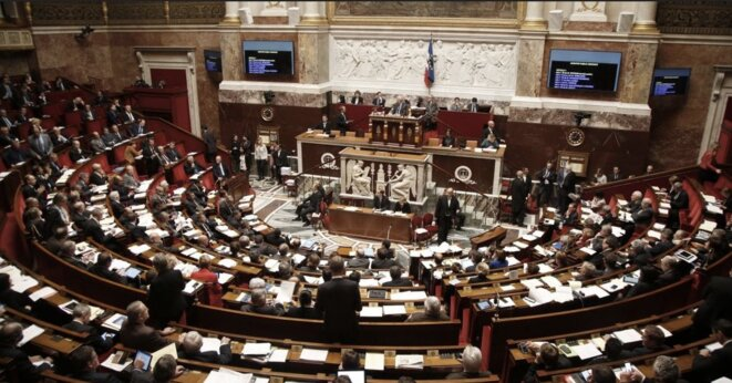 Elections take place this month for France's National Assembly. © Reuters