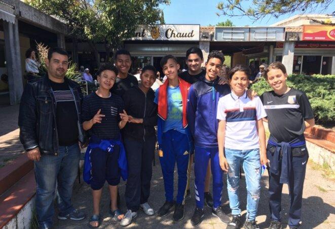 Les jeunes de Générations solidaires et citoyennes © N.B