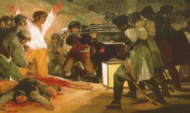 Tres de mayo - Le trois mai de Fransisco Goya
