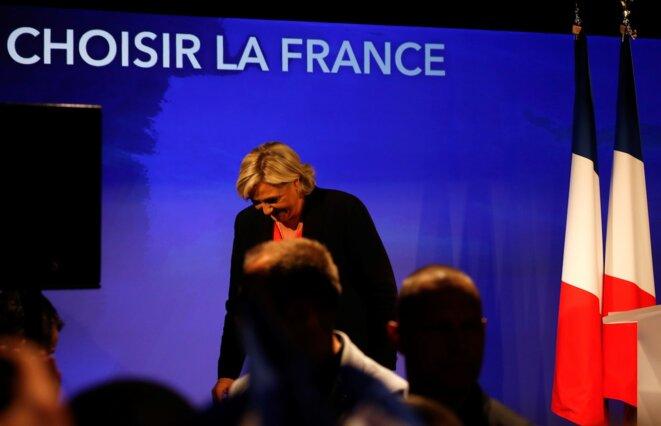 Marine Le Pen, le 7 mai 2017. © Reuters