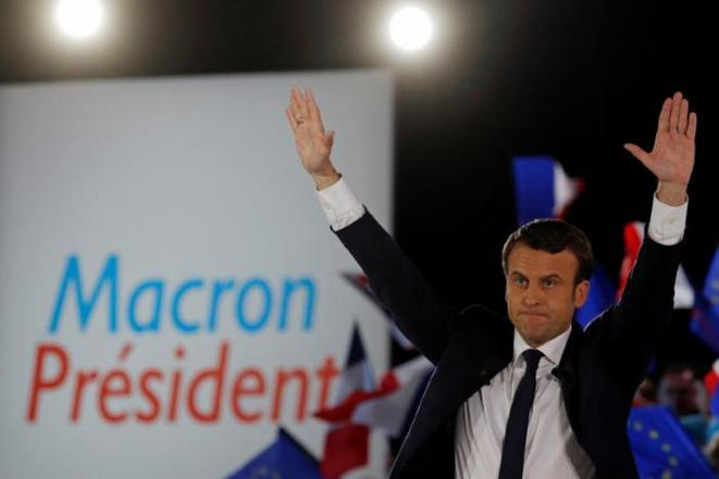 The next president of France: Emmanuel Macron. © Reuters