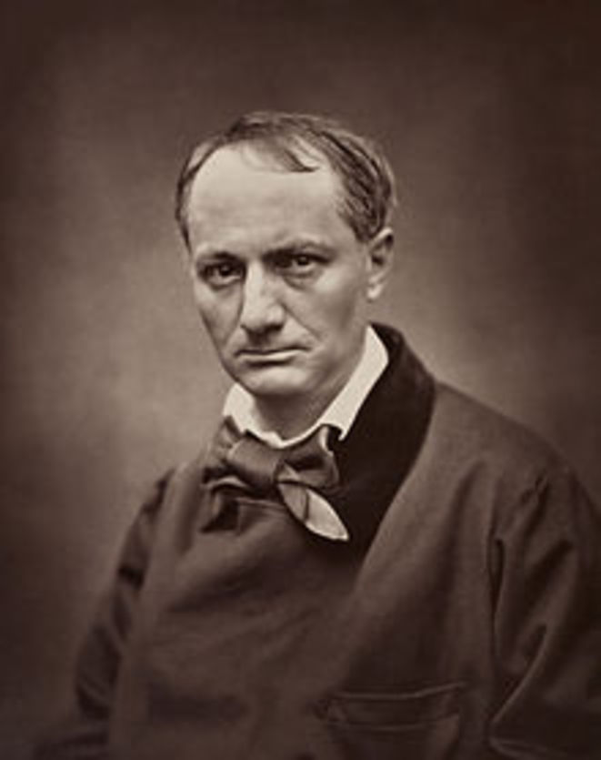 Charles Baudelaire par Etienne Carjat. 1862.