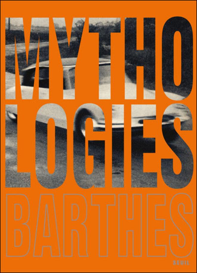 """L'édition illustrée des """"Mythologies"""" consacre le livre comme objet mythologique à part entière, davantage fait pour être lu que vu. © Éditions du Seuil"""
