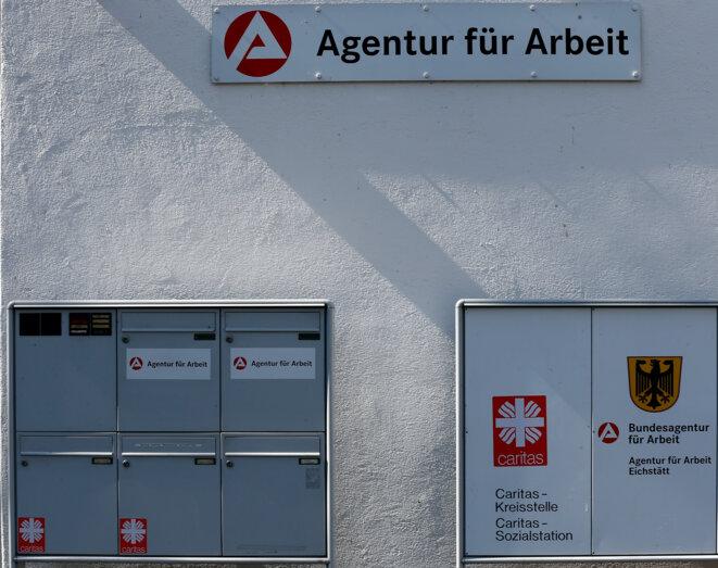 Une agence pour l'emploi à Eichstätt (Bavière, Allemagne) © Reuters