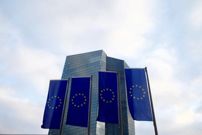 Le siège de la BCE à Francfort. © Reuters