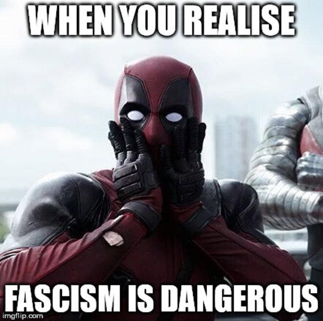 L'histoire ne dit pas si Deadpool a voté Macron.