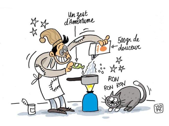 De la poudre aux yeux le club de mediapart - Dessin cuisinier humoristique ...