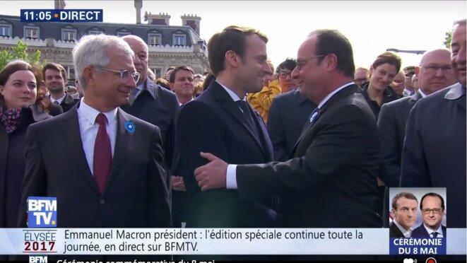 Capture d'écran (Cosse, Bartonone, Baylet, Valls, Macron, Placé, Hollande, Méadel, Sapin, Larcher)